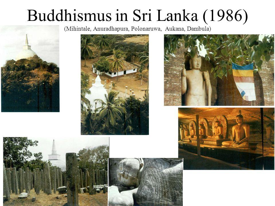 Buddhismus in Sri Lanka (1986) (Mihintale, Anuradhapura, Polonaruwa, Aukana, Dambula)