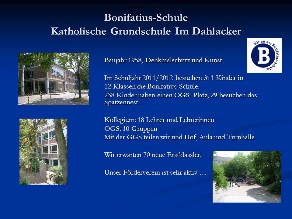 Bonifatius-Schule Katholische Grundschule Im Dahlacker
