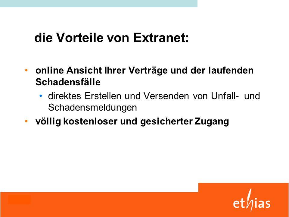 die Vorteile von Extranet: