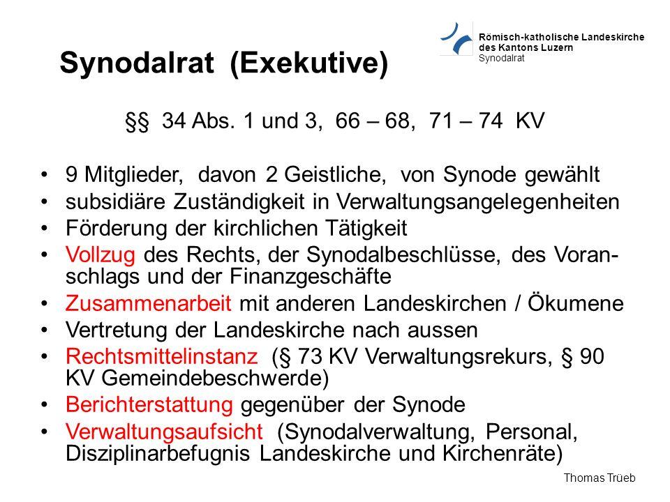Synodalrat (Exekutive)