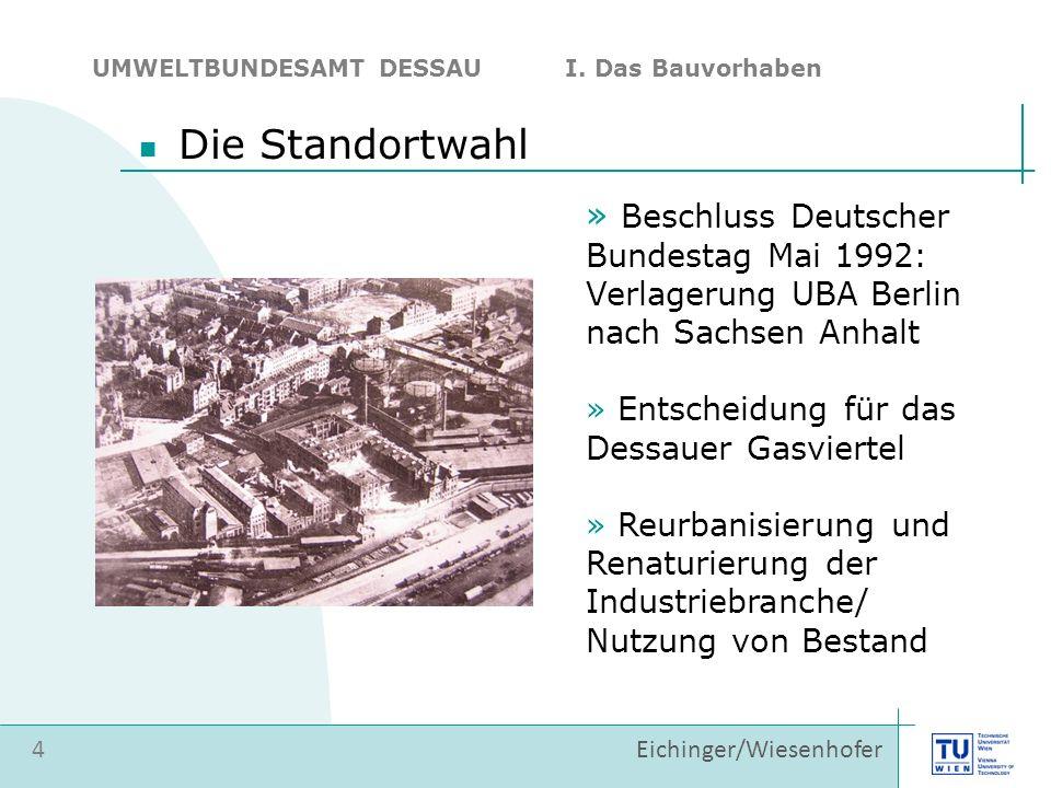 Die Standortwahl Beschluss Deutscher Bundestag Mai 1992: