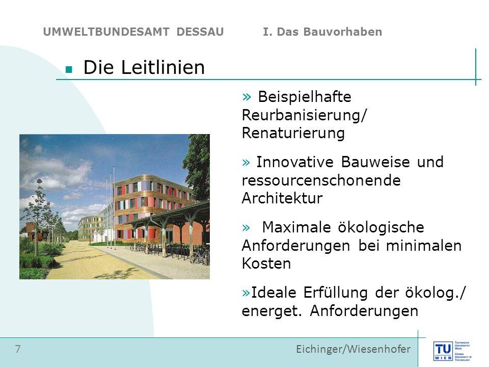 Die Leitlinien Beispielhafte Reurbanisierung/ Renaturierung