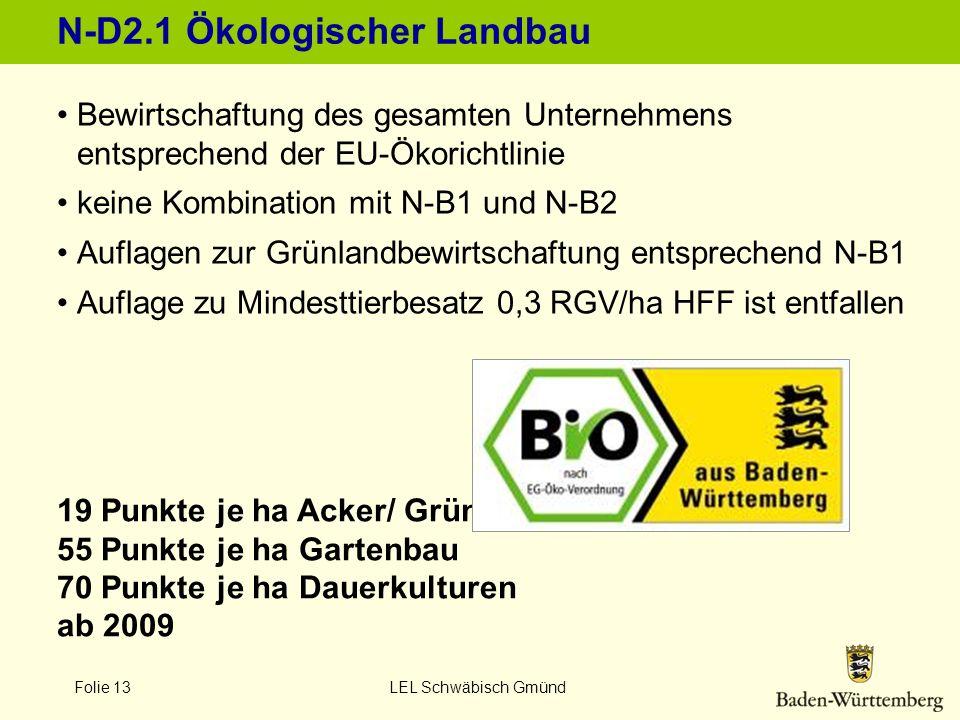 N-D2.1 Ökologischer Landbau