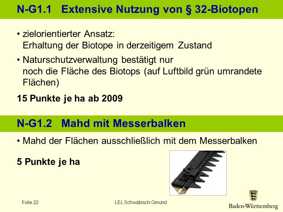 N-G1.1 Extensive Nutzung von § 32-Biotopen
