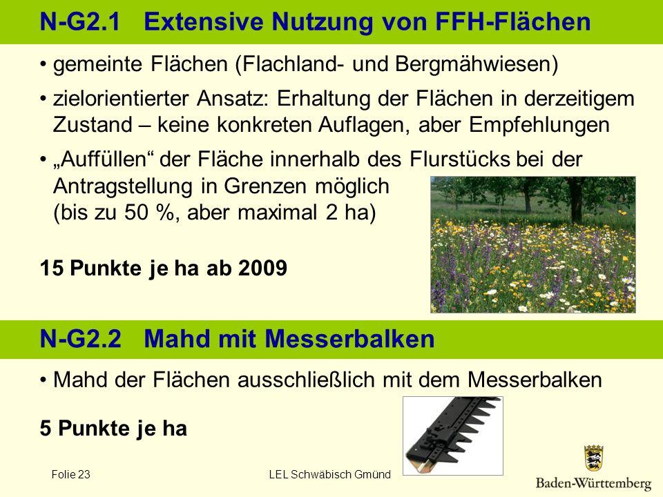 N-G2.1 Extensive Nutzung von FFH-Flächen