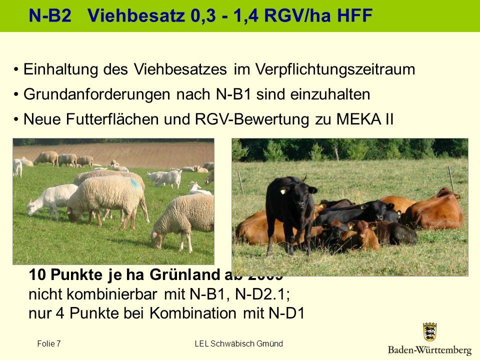N-B2 Viehbesatz 0,3 - 1,4 RGV/ha HFF