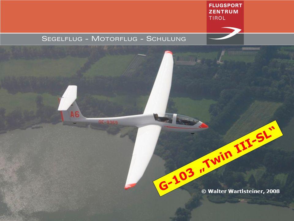 """G-103 """"Twin III-SL © Walter Wartlsteiner, 2008"""