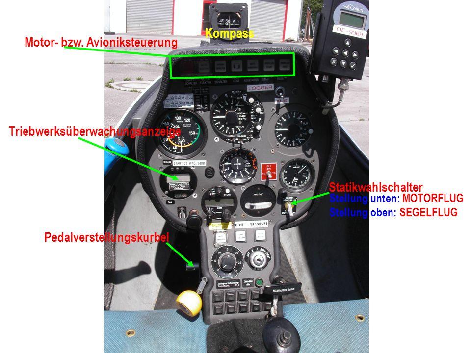 Motor- bzw. Avioniksteuerung