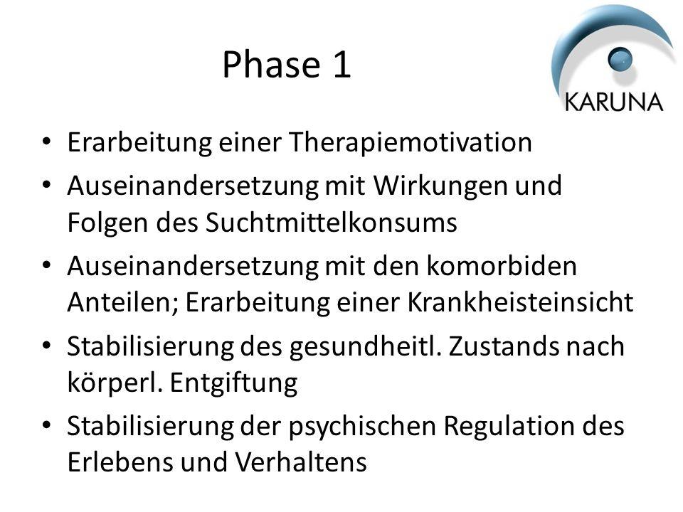 Phase 1 Erarbeitung einer Therapiemotivation