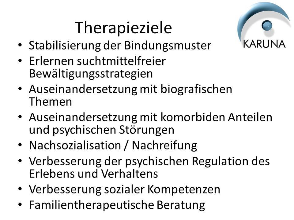 Therapieziele Stabilisierung der Bindungsmuster