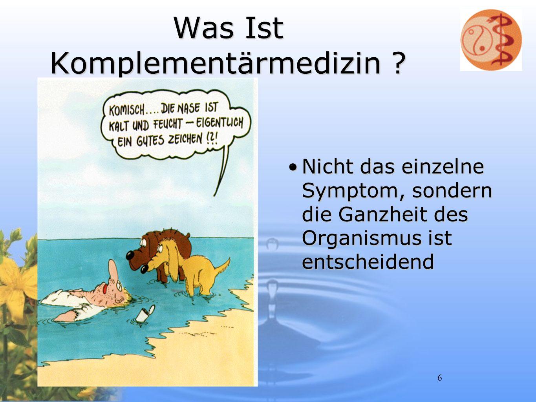 Was Ist Komplementärmedizin