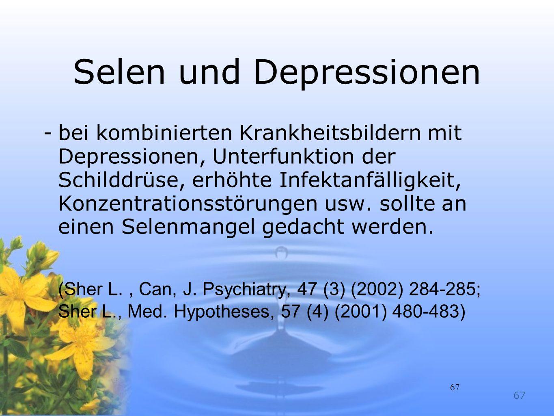 Selen und Depressionen