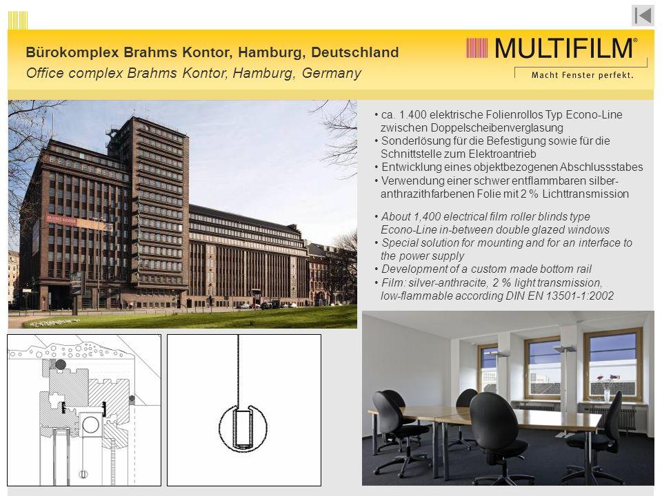 Bürokomplex Brahms Kontor, Hamburg, Deutschland