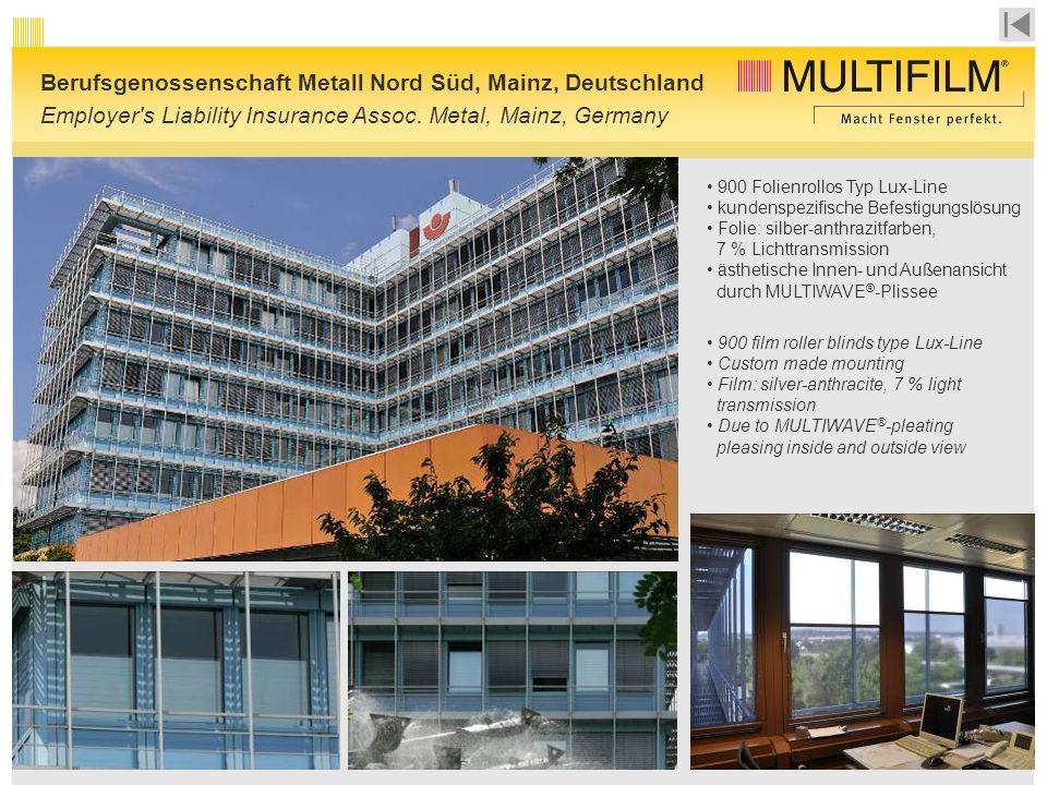 Berufsgenossenschaft Metall Nord Süd, Mainz, Deutschland
