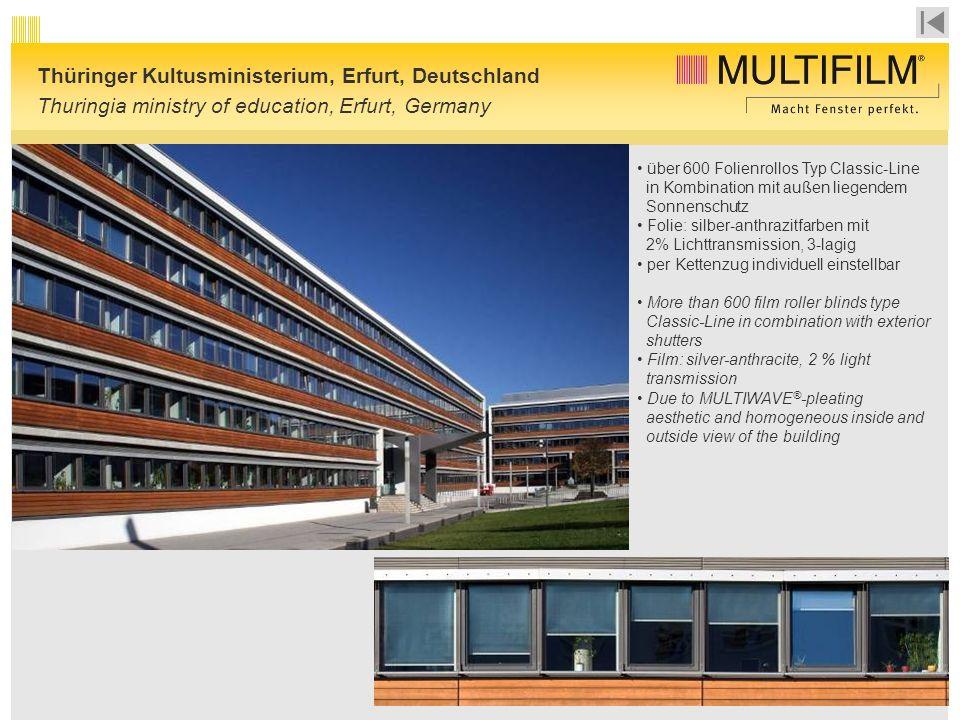 Thüringer Kultusministerium, Erfurt, Deutschland