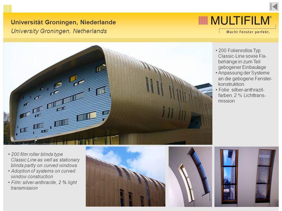 Universität Groningen, Niederlande University Groningen, Netherlands