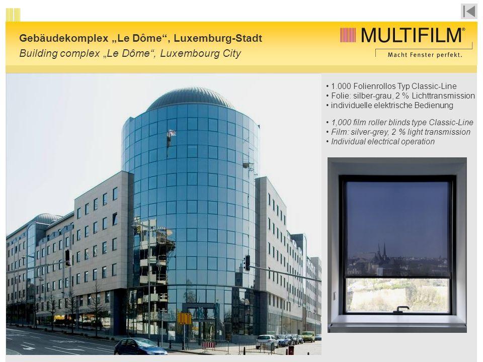"Gebäudekomplex ""Le Dôme , Luxemburg-Stadt"