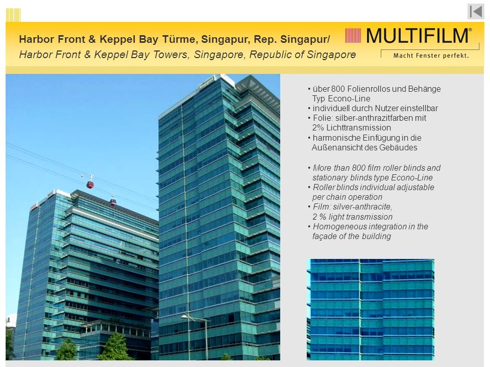 Harbor Front & Keppel Bay Türme, Singapur, Rep. Singapur/