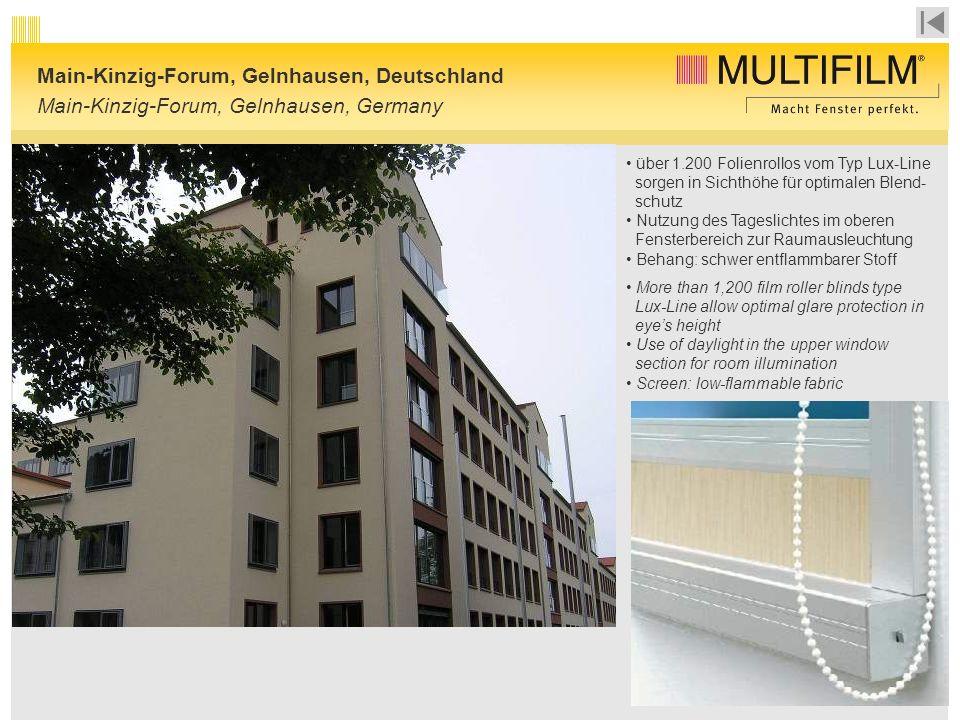 Main-Kinzig-Forum, Gelnhausen, Deutschland