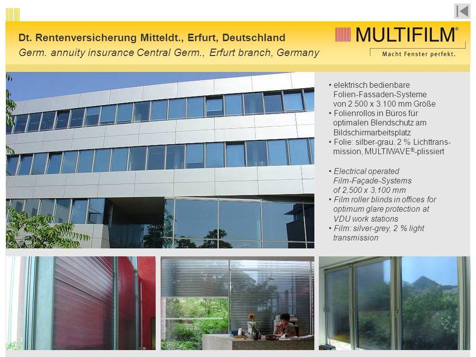 Dt. Rentenversicherung Mitteldt., Erfurt, Deutschland