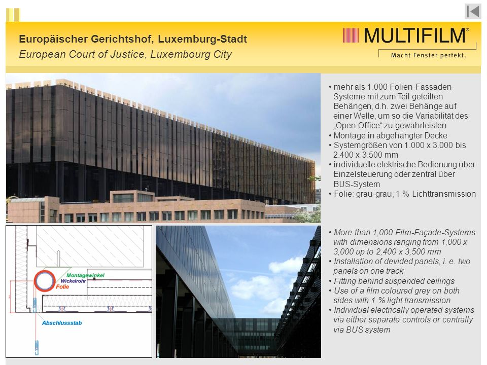 Europäischer Gerichtshof, Luxemburg-Stadt