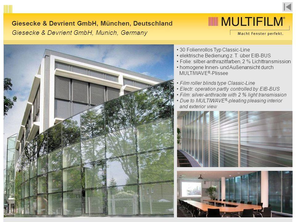 Giesecke & Devrient GmbH, München, Deutschland