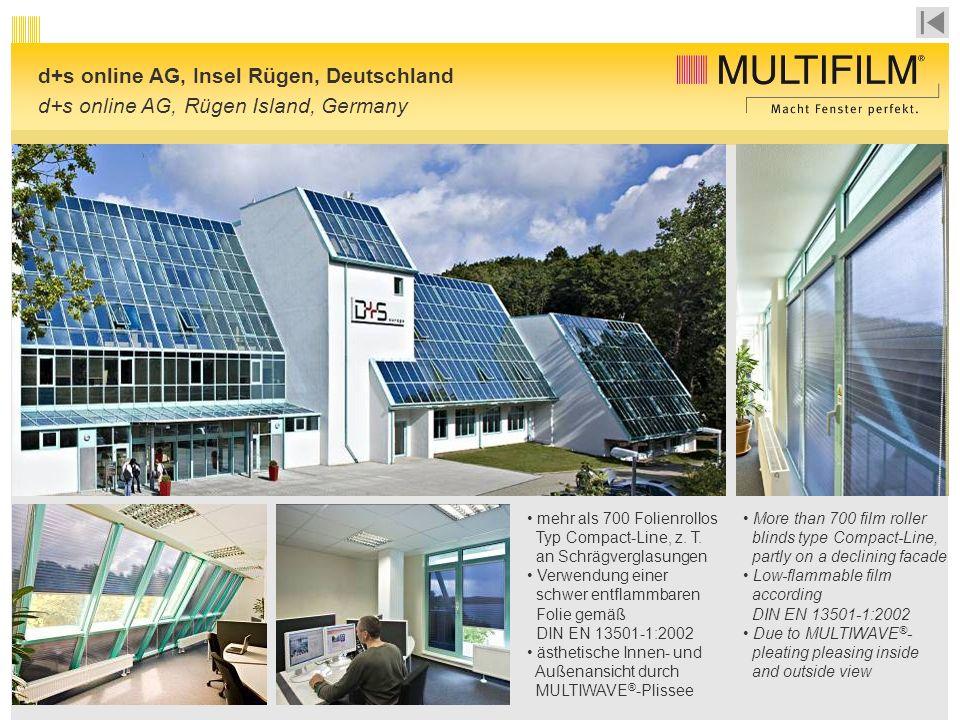 d+s online AG, Insel Rügen, Deutschland