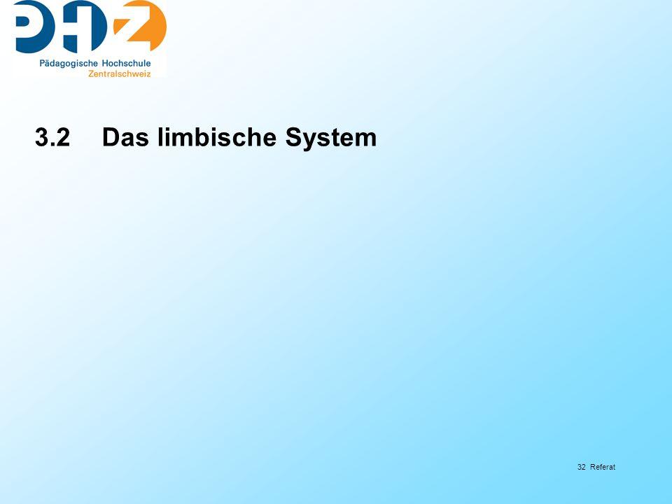 3.2 Das limbische System