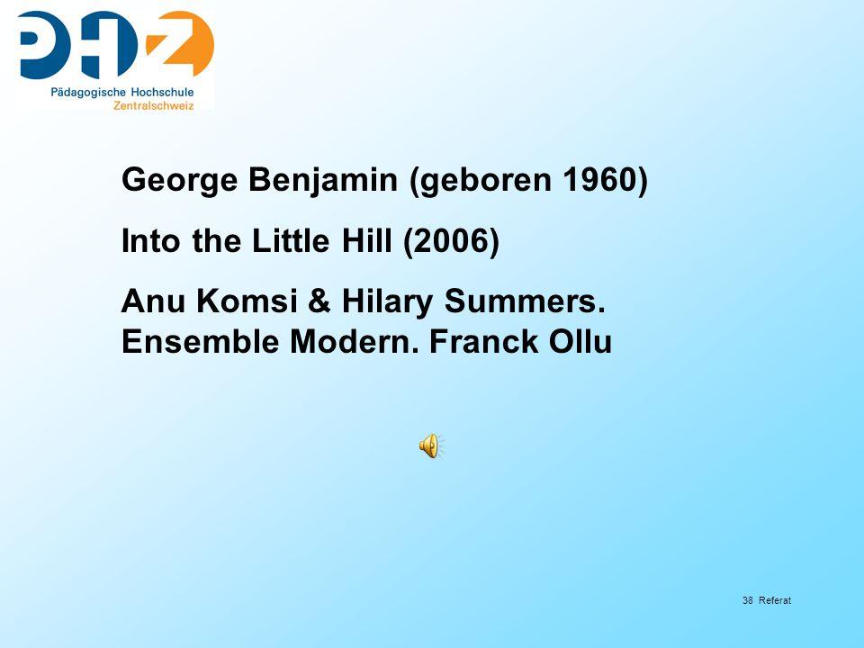 George Benjamin (geboren 1960)