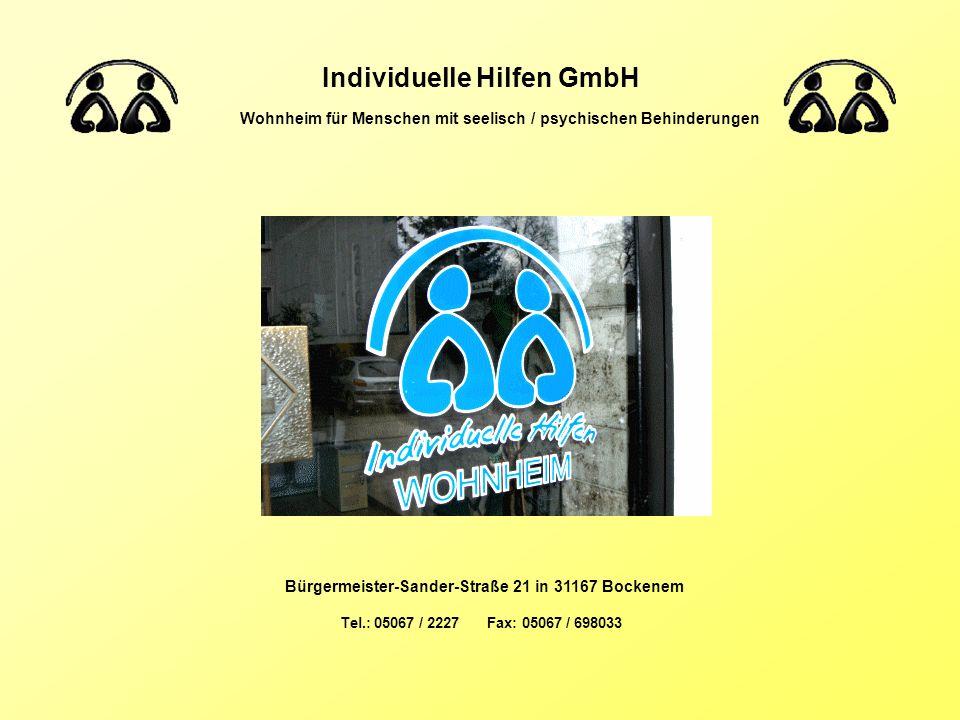 Individuelle Hilfen GmbH