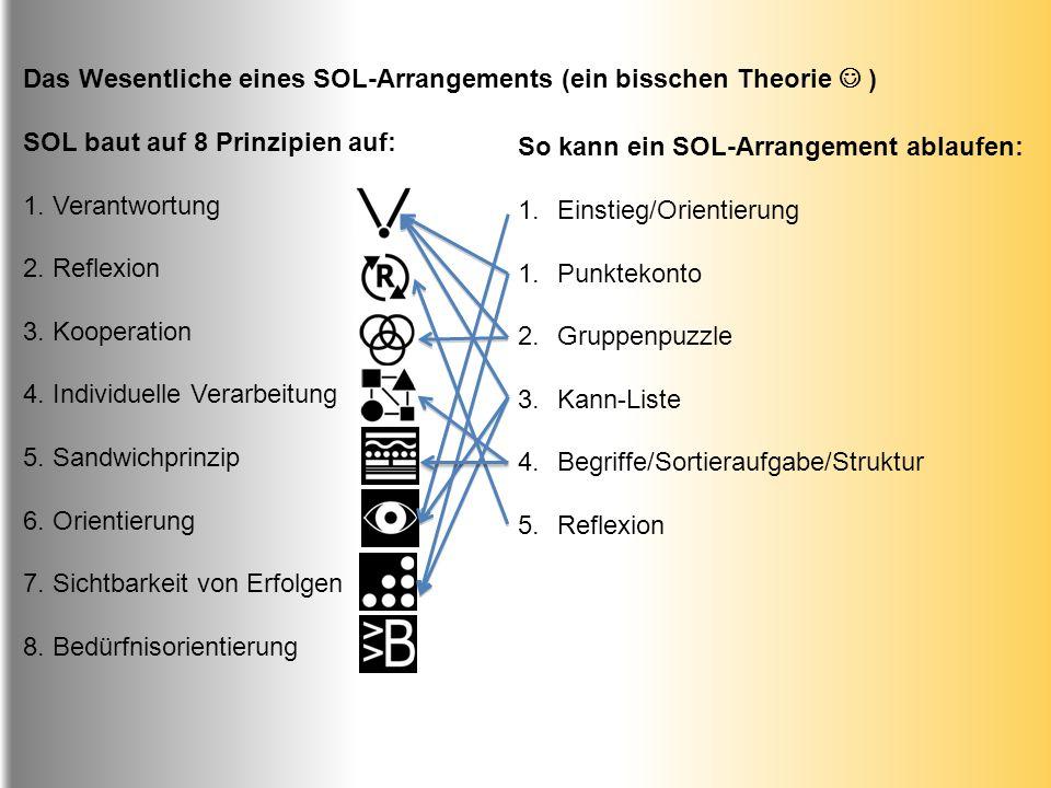 Das Wesentliche eines SOL-Arrangements (ein bisschen Theorie  )