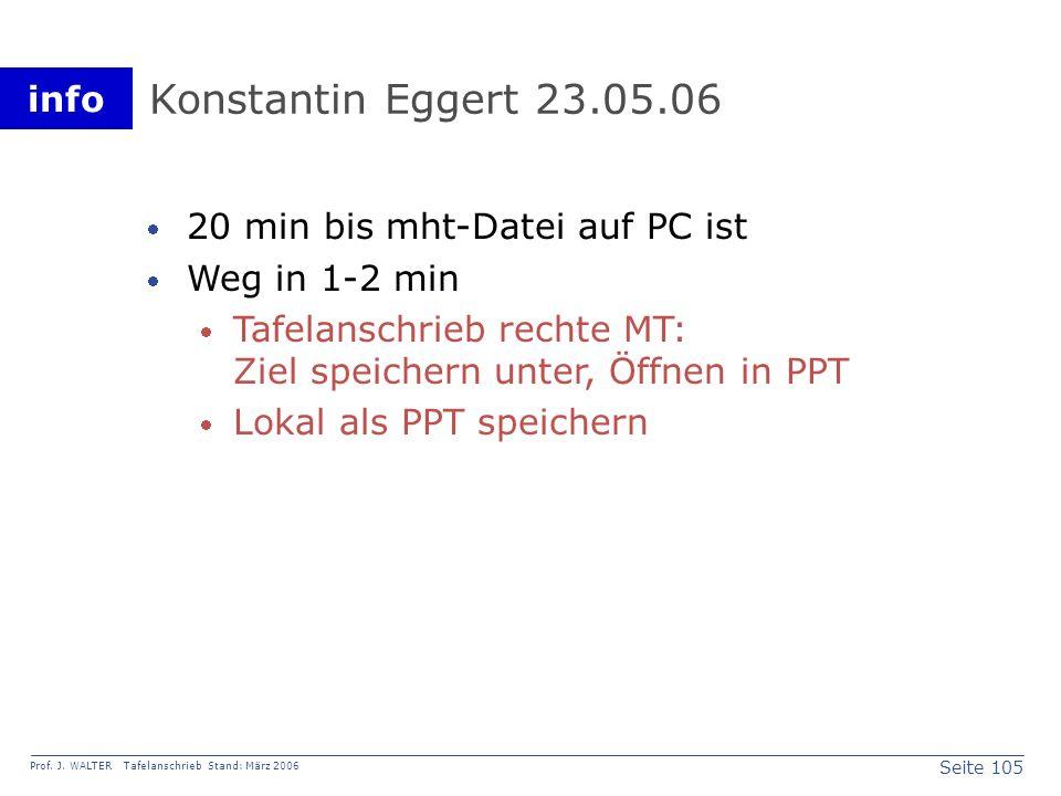 Konstantin Eggert 23.05.06 20 min bis mht-Datei auf PC ist