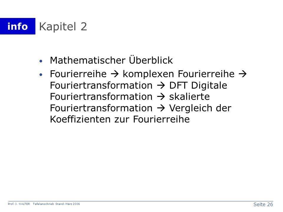 Kapitel 2 Mathematischer Überblick