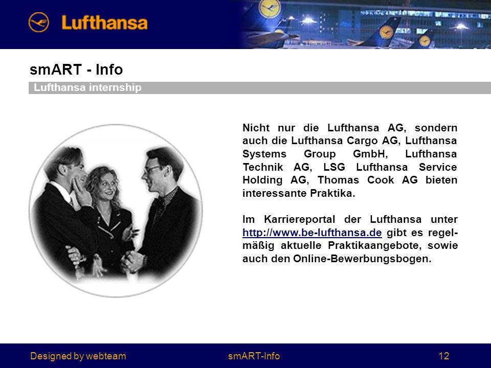 Lufthansa internship