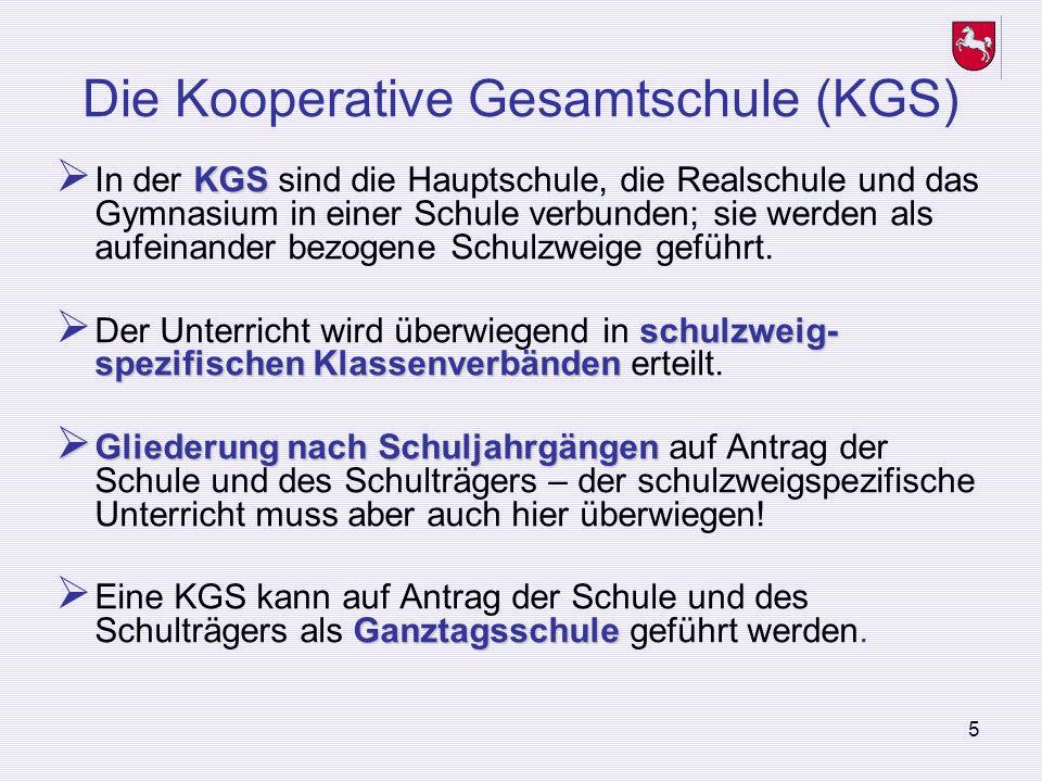Die Kooperative Gesamtschule (KGS)