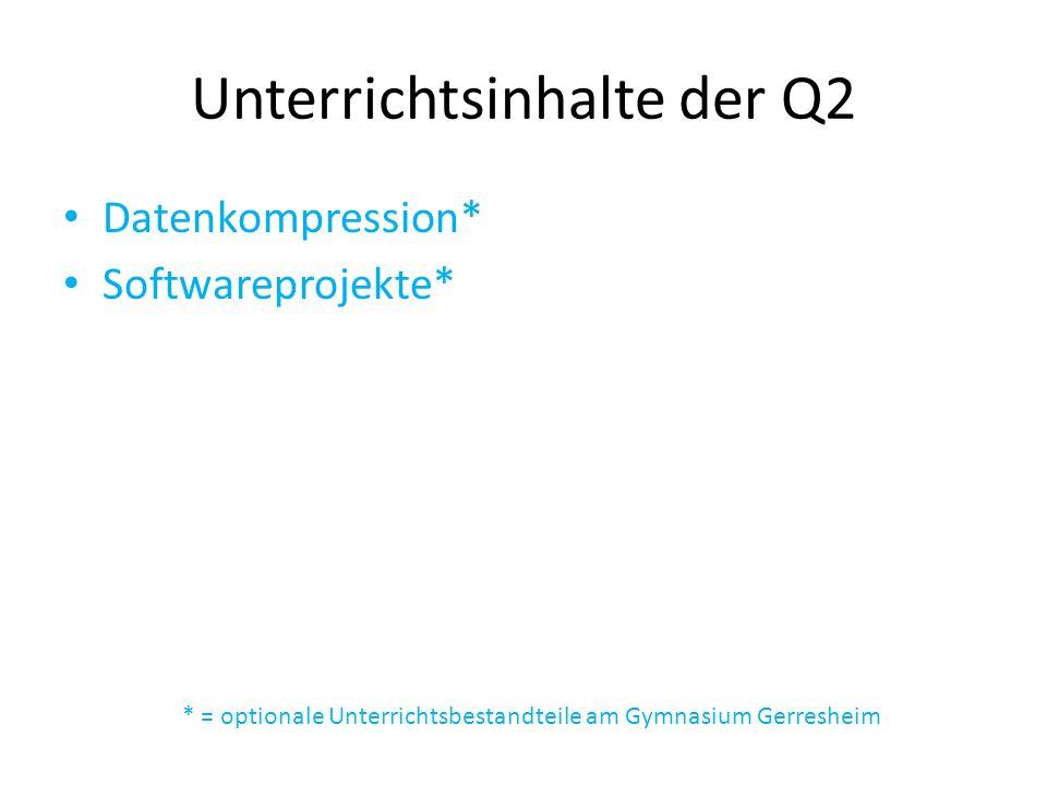Unterrichtsinhalte der Q2