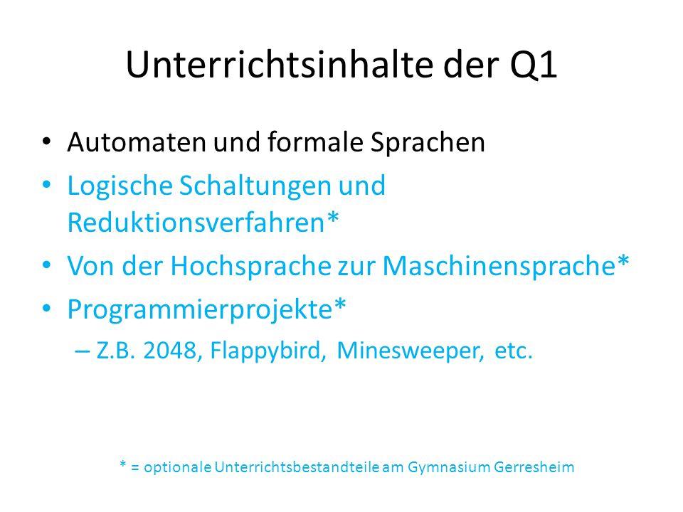 Unterrichtsinhalte der Q1