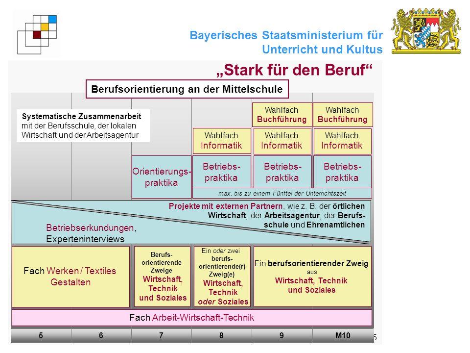 """""""Stark für den Beruf Berufsorientierung an der Mittelschule"""