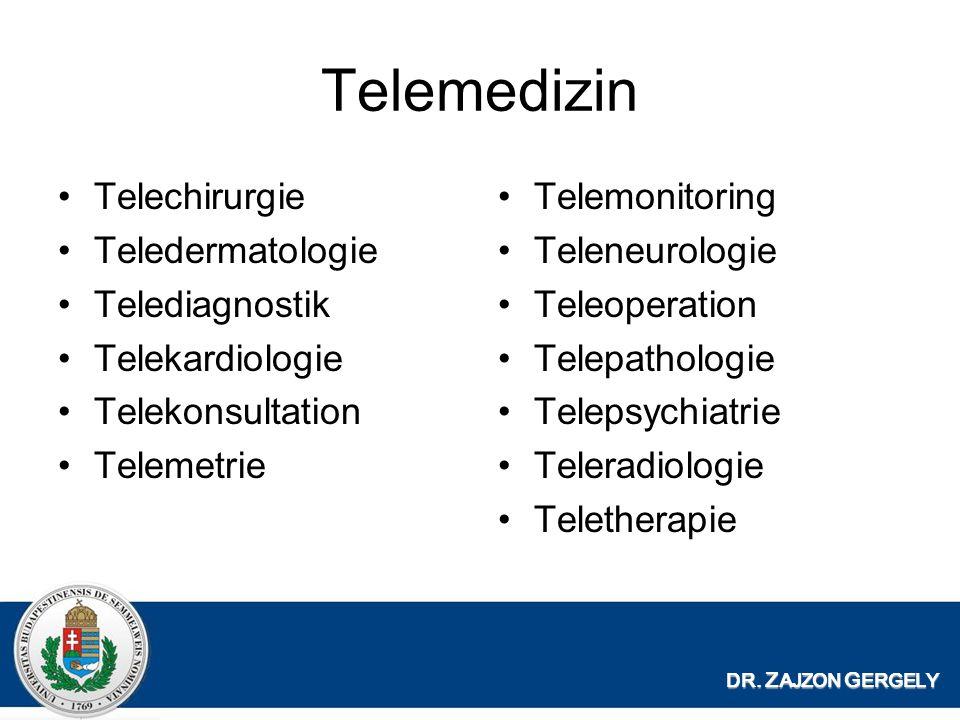 Telemedizin Telechirurgie Teledermatologie Telediagnostik