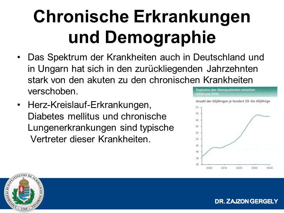 Chronische Erkrankungen und Demographie
