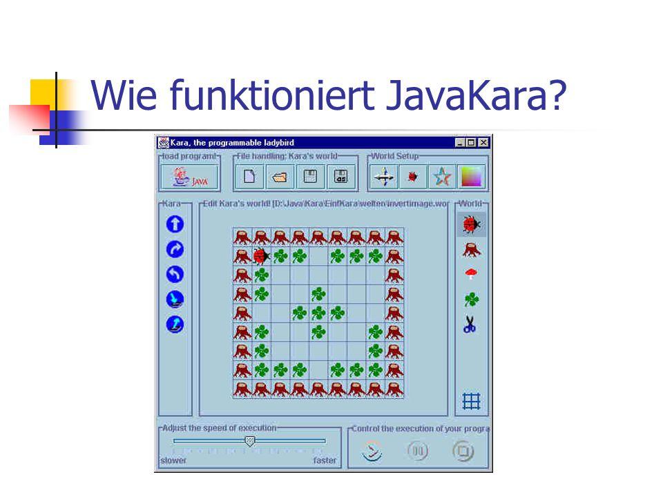 Wie funktioniert JavaKara