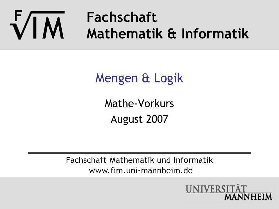 Fachschaft Mathematik und Informatik