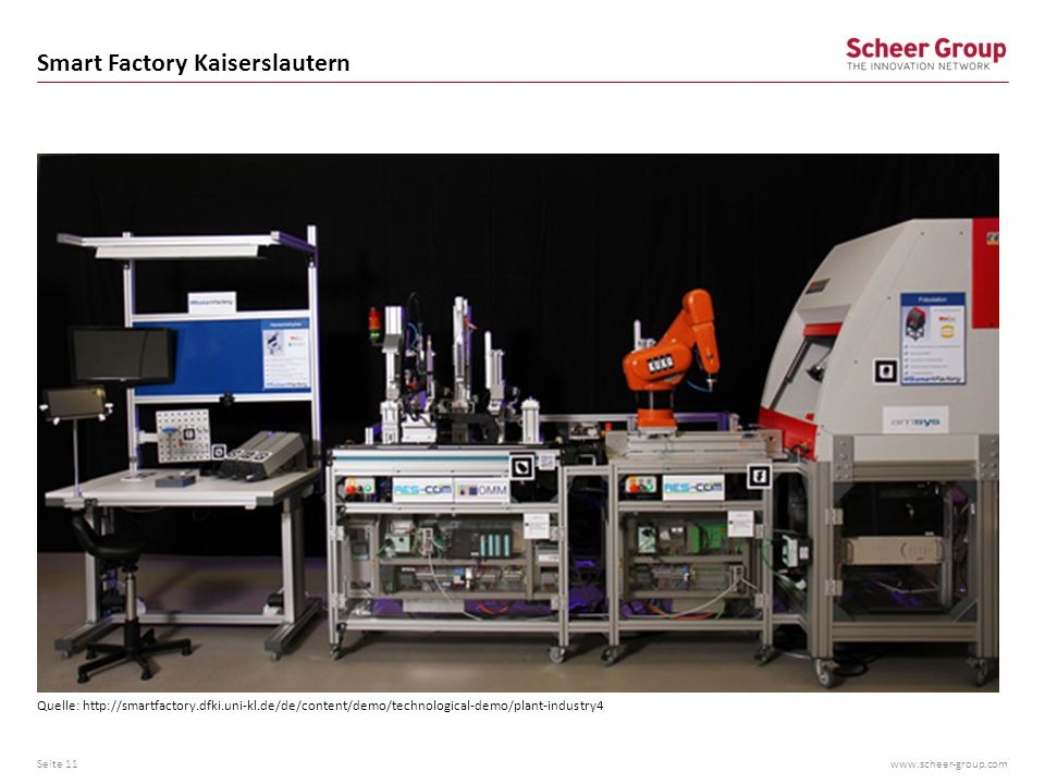 Smart Factory Kaiserslautern