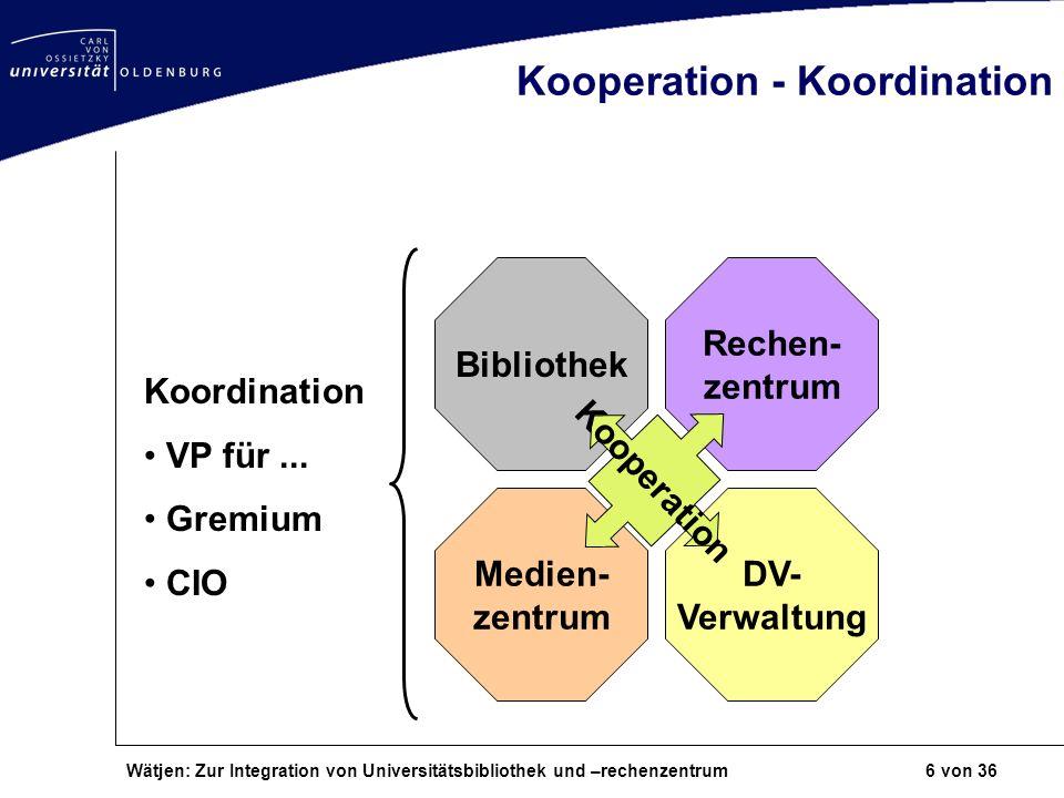 Kooperation - Koordination
