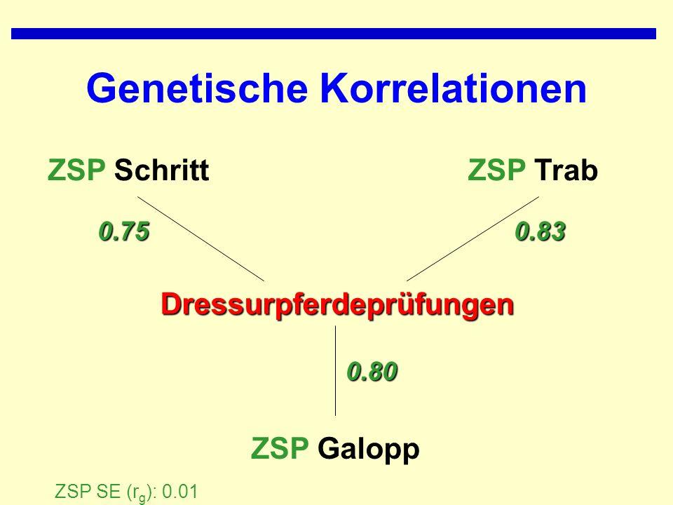 Genetische Korrelationen