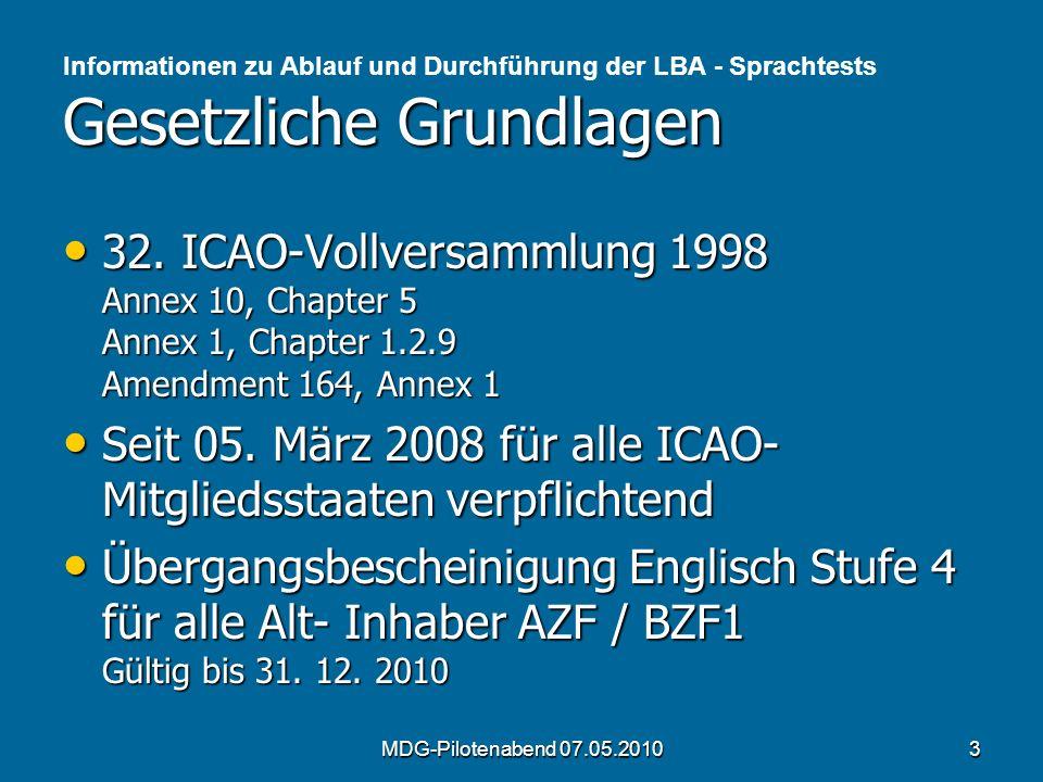 Seit 05. März 2008 für alle ICAO- Mitgliedsstaaten verpflichtend