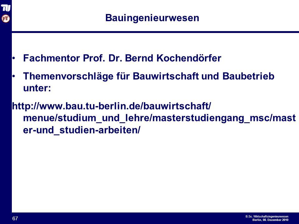 Informationsveranstaltung zur bachelorarbeit ppt for Bauingenieurwesen studium