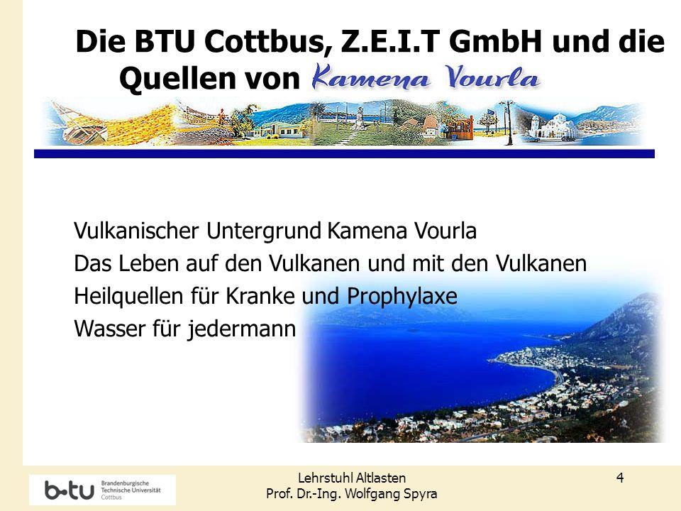 Die BTU Cottbus, Z.E.I.T GmbH und die Quellen von