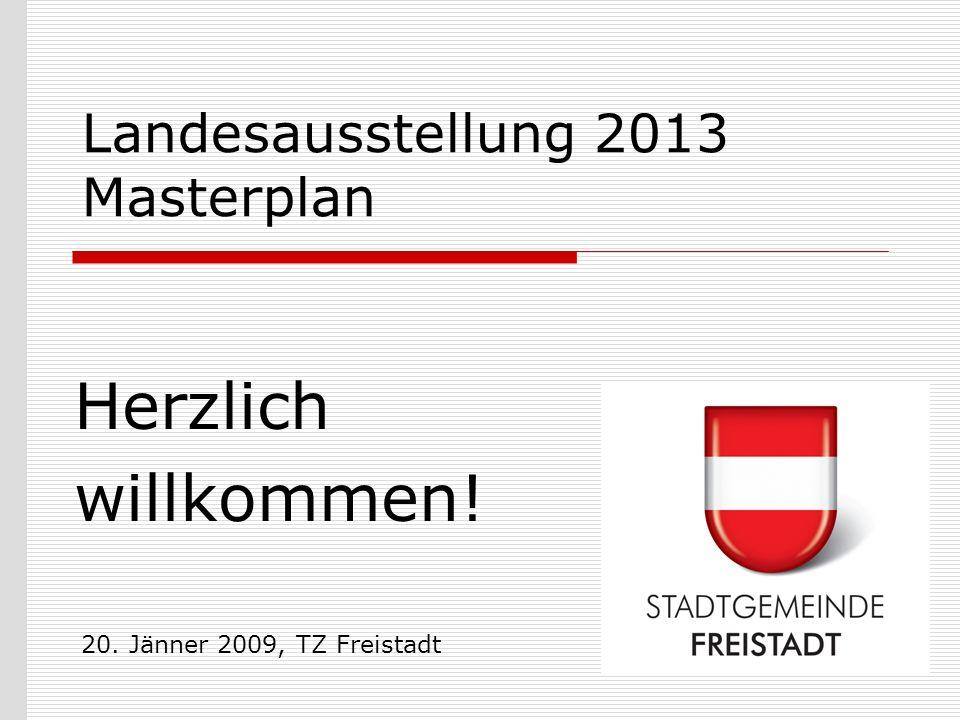 Landesausstellung 2013 Masterplan