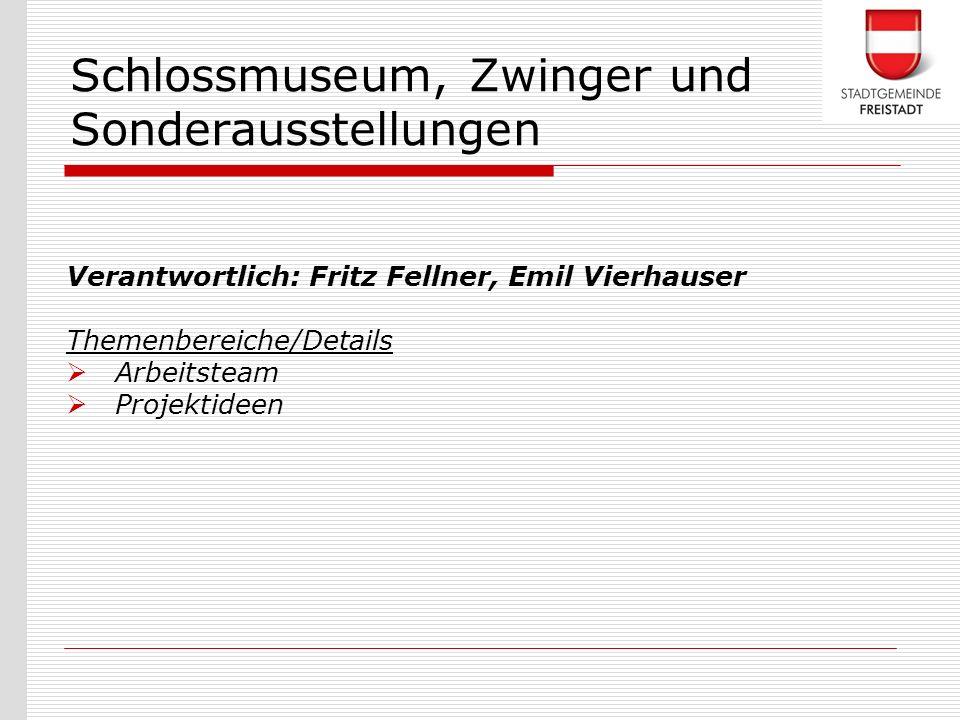 Schlossmuseum, Zwinger und Sonderausstellungen